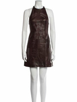 Thumbnail for your product : Alexander Wang Leather Mini Dress w/ Tags