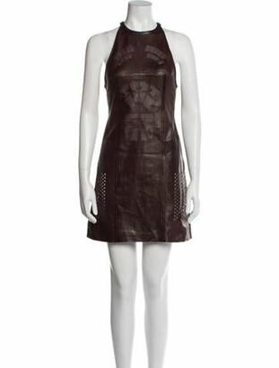 Alexander Wang Leather Mini Dress w/ Tags