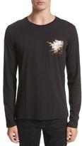 Versace Men's Graphic Long Sleeve T-Shirt
