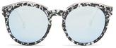 Christian Dior Round-frame acetate sunglasses