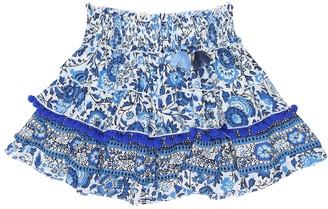 Poupette St Barth Kids Ariel floral skirt