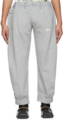 Bless Grey and Blue Overjogging Jean Lounge Pants