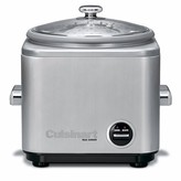 "Cuisinart Brushed Stainless Steel"" Rice Cooker by"