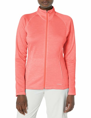 Cutter & Buck Annika Women's Lightweight Full Zip Particle Grid Back Long Sleeve Jacket