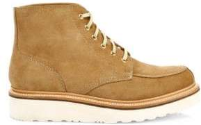 Grenson Men's Buster Suede Wedge Boots - Honey Suede - Size 6 UK (7 US)