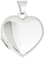 Polished Heart Locket, 14K Gold
