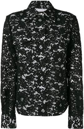 Calvin Klein lace detail jacket