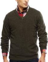 ARGYLECULTURE Argyle Culture Long-Sleeve V-Neck Sweater