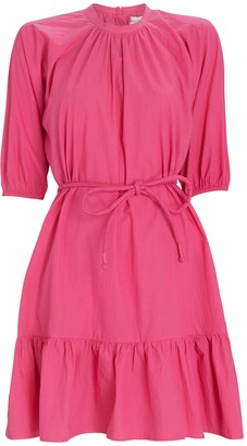 Apiece Apart Emelian Poplin Mini Dress