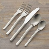 Crate & Barrel Sway 5-Piece Flatware Place Setting