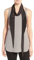 Eileen Fisher Women's Whisper Silk Beaded Scarf