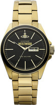 Vivienne Westwood VV063GD gold-toned stainless steel watch