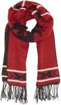Charlotte Russe Aztec Fringed Blanket Scarf