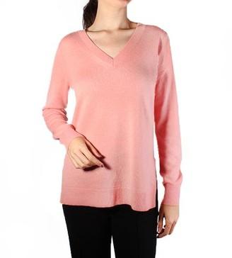 MICHAEL Michael Kors Cashmere V-Neck Sweater Primrose