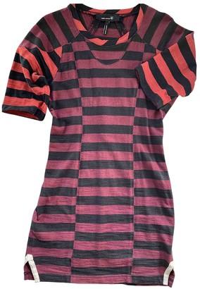 Etoile Isabel Marant Burgundy Cotton Dress for Women