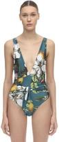Agua Bendita Florentina Flower One Piece Swimsuit