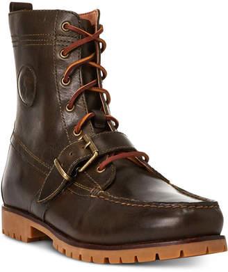 Polo Ralph Lauren Men Ranger Leather Boot Men Shoes