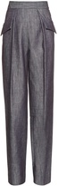 ADAM by Adam Lippes Straight-leg cotton-twill trousers