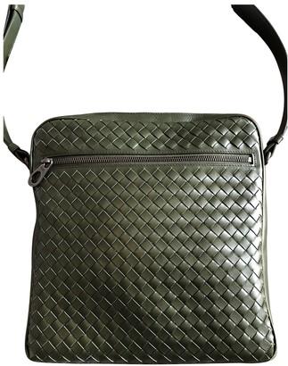 Bottega Veneta Green Leather Bags