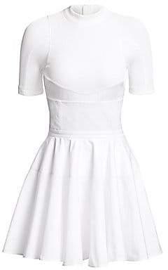 Alexander Wang Women's Ribbed Corset Cotton Dress