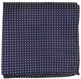 The Tie Bar TheTieBar 100% Woven Silk Pindot Patterned Pocket Square