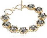 """ABS by Allen Schwartz Dark Horse"""" Stone Set Flex Bracelet, 8"""""""