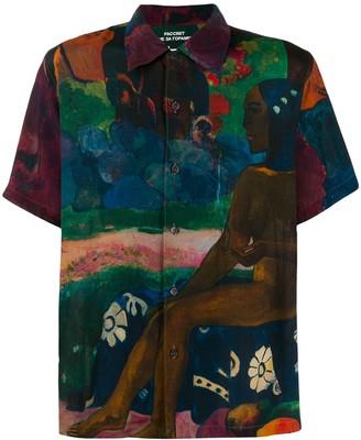 Rassvet Gauguin print shirt