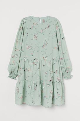 H&M Patterned Dress - Green