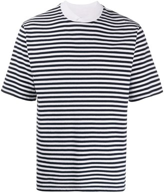 Barbour stripe-pattern T-shirt