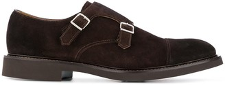 Doucal's Kevin double-buckle monk shoes