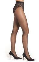 Donna Karan Women's Signature Lace Panty Control Top Pantyhose