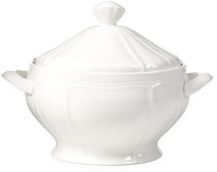 Mikasa Antique White Covered Casserole
