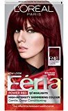 L'Oreal Feria Power Reds Hair Color, R48 Intense Deep Auburn (Packaging May Vary)