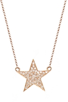 BETTINA JAVAHERI Double Sided Diamond Nebula Necklace
