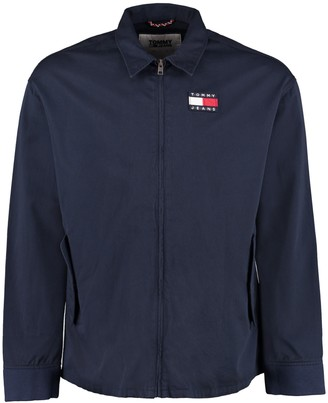 Tommy Jeans Zippered Cotton Jacket