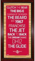 """Steiner Sports Houston Rockets 32"""" x 16"""" Vintage Subway Sign"""