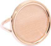 ginette_ny Brush Gold Disc ring