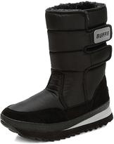 Sakura Black Double-Strap Snow Boot