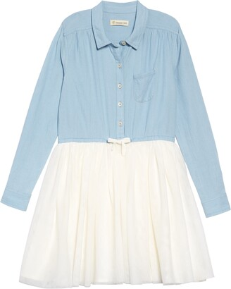 Tucker + Tate Button Down Tutu Dress