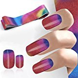 DZT1968 4100CM Design Nail Art Foil Stickers Transfer Decal Tips Manicure beauty nail (A)
