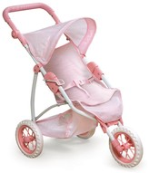 The Well Appointed House Three Wheel Doll Jogging Stroller