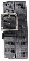 Bill Adler Men's 1981 Perforated Leather Belt