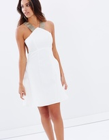 Lumier Between The Lines Fit And Flare Dress