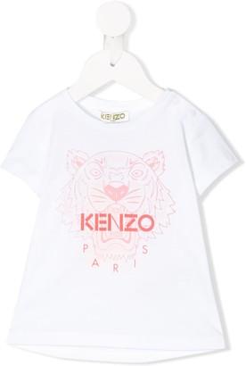 Kenzo short sleeve logo print T-shirt