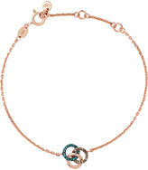 Links of London Treasured 18ct rose-gold and diamond bracelet