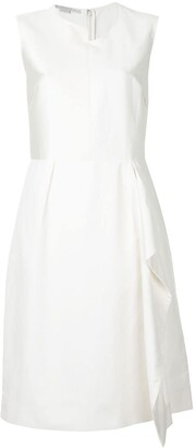 Stella McCartney Asymmetric Front Dress