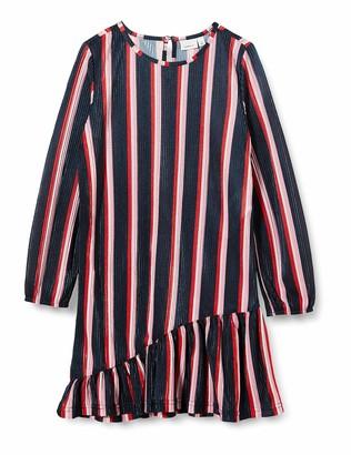 Name It Girl's Nkfbisma Ls Dress Playwear