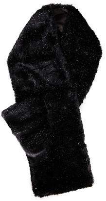 Eugenia Kim Victoria Metallic Faux Fur Scarf