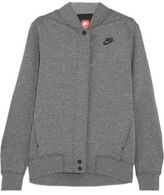 Nike Tech Fleece Destroyer Perforated Cotton-Blend Jersey Jacket