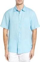 Tommy Bahama Men's 'Sea Glass Breezer' Original Fit Short Sleeve Linen Shirt